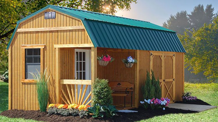 Wood Sheds For Sale Cheap Wood Storage Shed With Overhang